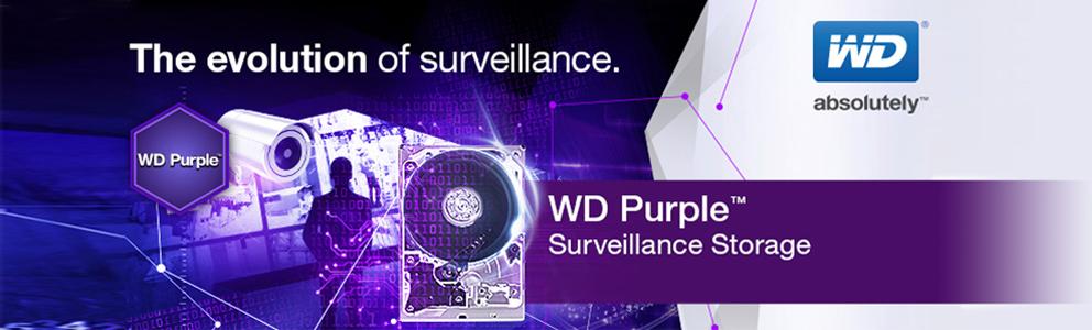WD Purple Surveillance