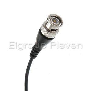 BNC конектор с кримпнат кабел