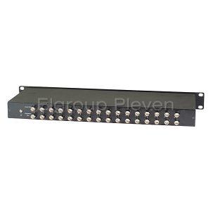 16-канална гръмозащита по коаксиален кабел, SC&T SP016HD