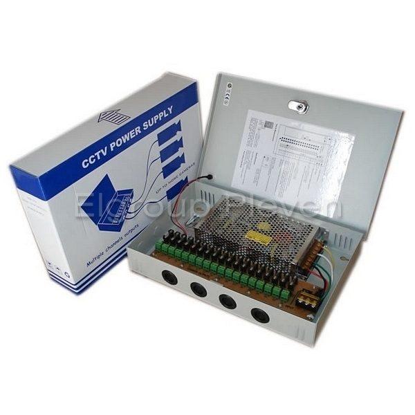 18-канален захранващ блок 12VDC-25A-300W, MPS-PTC300-A18