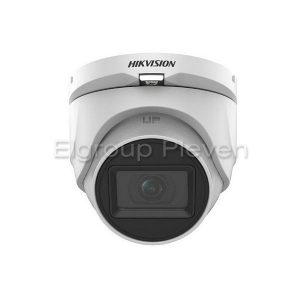 HDTVI Audio куполна камера 5MP, HIKVISION DS-2CE76H0T-ITMFS