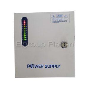 8-канален захранващ блок 12VDC-5A-60W, CV-PSU-DC120805