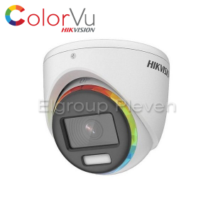 HDTVI камера 2MP, ColorVu, HIKVISION DS-2CE70DF8T-MF