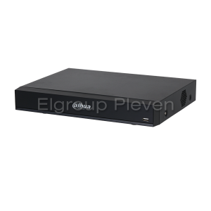 4-канален Penta-brid DVR 4K/8MP, DAHUA XVR7104HE-4K-I2, WizSense